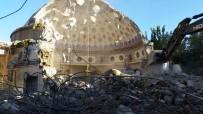 CAMİ İNŞAATI - Kulp'ta, İlçenin En Görkemli Camisi İnşa Ediliyor