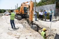 İSHAKÇELEBI - MASKİ'nin 154 Mahalle Projesi Hızla Devam Ediyor