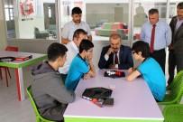 Milli Eğitim Müdürü Demir, Recep Tayyip Erdoğan İmam Hatip Lisesi'ni Ziyaret Etti