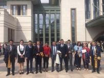 Rektör Biber, Cumhurbaşkanlığı Külliyesi'nde 2017-2018 Akademik Yılı Açılış Törenine Katıldı