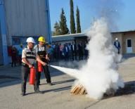 AFET BİLİNCİ - Şantiyede Yangın Tatbikatı