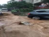 SAĞANAK YAĞMUR - İstanbul'da şiddetli yağış