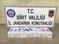 Siirt'te 30 Noktaya Kaçak Sigara Operasyonu