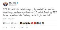 BOEING - TCI, Azerbaycan Havayolları'nın Da Galley Tedarikçisi Seçildi
