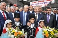 DEMİRYOLLARI - Tiflis'ten Gelen İlk BTK Hattı Treni Kars'ta Coşkuyla Karşılandı