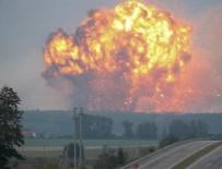 MÜHİMMAT DEPOSU - Ukrayna'da büyük patlama