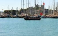 GÖKOVA - Yunan Polisi Türk Bayraklı Yata El Koydu