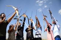 SULTAN ALPARSLAN - Ata Sporu Okçuluğa 'Ya Hak' Diyerek Başlandı