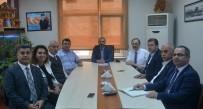 ALİ FUAT TÜRKEL - Bafra TSO'da İstişare Toplantısı