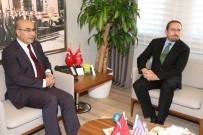ADANA VALİSİ - Büyükelçi Bass'tan Vali Demirtaş'a Veda Ziyareti