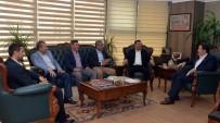 KAMU PERSONELİ - CHP Genel Başkan Yardımcısı Ağbaba'dan Memur-Sen'e Ziyaret