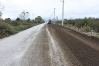 ÇEVRE YOLLARI - Düzce'de Yol Genişletme Çalışmaları Sürüyor
