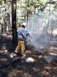 ORMAN YANGINI - Edremit Orman'ın Hızlı Müdahalesi Orman Yangınını Önledi