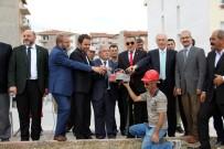 MUSA YıLMAZ - Hazer Dinari Camii'nin Temeli Törenle Atıldı