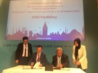 BAĞLıLıK - İbn Haldun Üniversitesi İle İslam Konferansı Gençlik Forumu Arasında İş Birliği Anlaşması