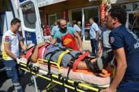 Merdivenden Düştü Hastanelik Oldu