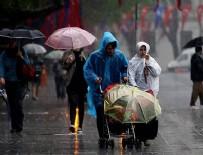 KUZEY EGE - Meteoroloji'den sağanak uyarısı
