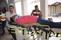ŞERİT İHLALİ - Otomobili Biçen Tır Devrildi Açıklaması 1 Ölü, 1 Yaralı