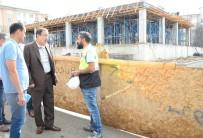 JİMNASTİK SALONU - Palandöken Belediyesini İkinci Kültür Merkezi Mimarisiyle Ve İhtişamıyla Göz Kamaştırıyor