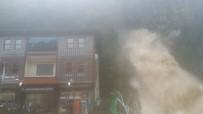 ŞELALE - Rize'de Sel Açıklaması 1 Ölü, 1 Yaralı