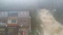 ŞELALE - Rize'de Şiddetli Yağış Açıklaması 1 Ölü, 1 Yaralı