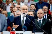SAADET PARTISI GENEL BAŞKANı - Saadet Partisi Giresun'da Fındık Çıkartması Yaptı