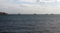 SAVAŞ GEMİSİ - Savaş gemileri boğazdan geçti