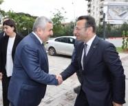 HÜSEYIN CAN - Vali Aksoy, Başkan Baran'ı Ziyaret Etti