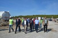 TOPLU KONUT - Vali Tavlı Yukarıköy'de İncelemelerde Bulundu