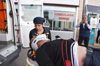 Yolcu Otobüsünün Çarptığı Yaya Ağır Yaralandı