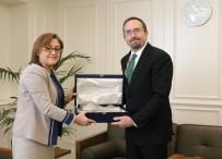 JOHN BASS - ABD'nin Türkiye Büyükelçisi Bass'tan Şahin'e Veda Ziyareti