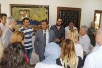 DINDAR - AFAD Gönüllüleri Başkan Pamuk'u Ziyaret Etti