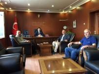 AK Parti Mahmudiye Heyetinden Kaymakam Dolaş'a Tanışma Ziyareti