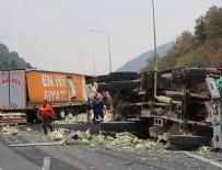 BOLU DAĞı - Anadolu Otoyolu'nda trafik kazası: 3 yaralı