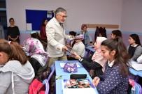 KAHRAMANLıK - Başkan Bozkurt Öğrencilerle Bir Araya Geldi