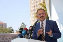 İSRAIL BAYRAĞı - Çevre Ve Şehircilik Bakanı Mehmet Özhaseki Açıklaması