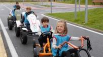 TRAFİK EĞİTİM PARKI - Çocuk Trafik Eğitim Parkı'nda Eğitimler Başladı