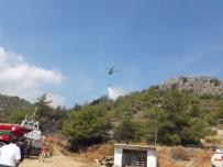 ORMAN YANGINI - Datça'da Makilik Alanda Yangın