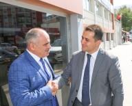 SÜLEYMAN SOYLU - Kaymakam Çığ'dan Başkan Öztürk'e Veda Ziyareti