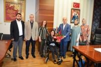 TEVFİK FİKRET - Okul Müdüründen Başkan Yardımcısı Taş'a Teşekkür Ziyareti
