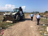 GÖKOVA - Sanayi'deki Çadırlar Kaldırıldı