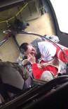 KURTARMA HELİKOPTERİ - Selde Mahsur Kalan Yaşlı Kadın Helikopter Vinciyle Kurtarıldı