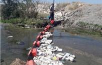 VAN GÖLÜ - Van Büyükşehir Belediyesi'nden Van Gölü'ne Akan Derelere Bariyerli Önlem