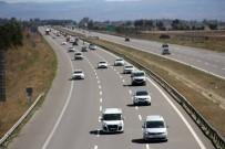 HIZ KONTROLÜ - Bayram Tatili Dönüşünde Trafik Yoğunlaştı