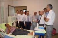 MEHMET ÖZER - Daire Başkanı Özer Besni Devlet Hastanesi Personellerinin Çok İyi Çalıştığını Söyledi