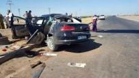 Derik'te Trafik Kazası Açıklaması 1 Ölü, 4 Yaralı