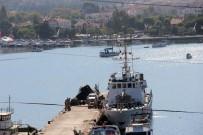 SENEGAL - Foça'da 40 Kaçak Göçmen Yakalandı