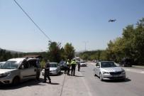 ÖLÜMLÜ - Jandarma Ve Polisten Droneli Trafik Denetimi