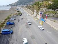 JANDARMA KARAKOLU - Jandarmadan 'Drone'li Trafik Denetimi