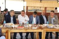 MEHMET EMIN ŞIMŞEK - Milletvekili Şimşek, Vatandaşlarla Bayramlaştı